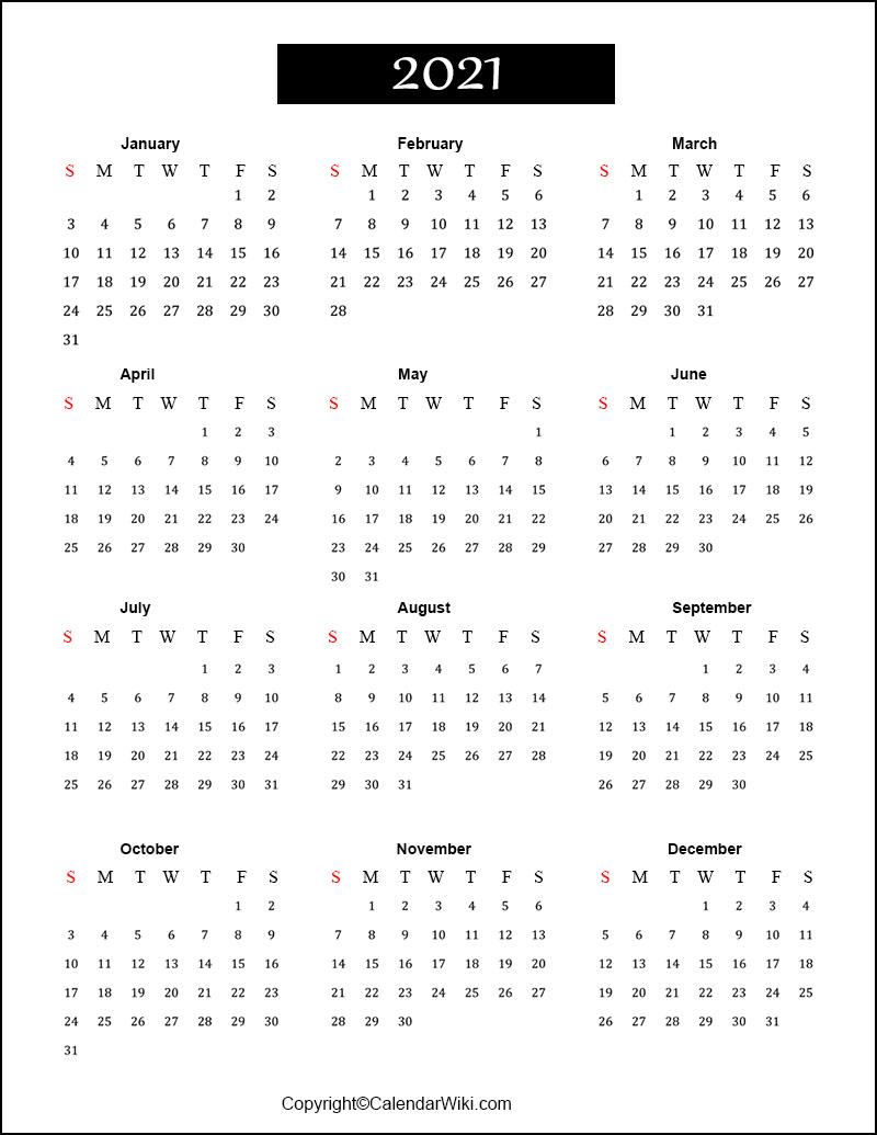 [%Free Printable Calendar 2021 Templates [Pdf, Word]|2021 Calendar Free Printable|2021 Calendar Free Printable%]