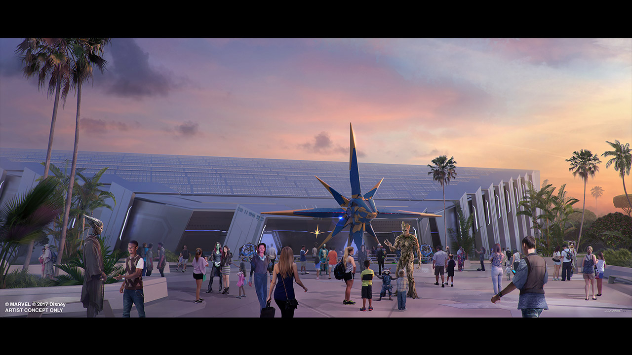 Guardians Of The Galaxy' Attraction At Epcot Will Be One Of