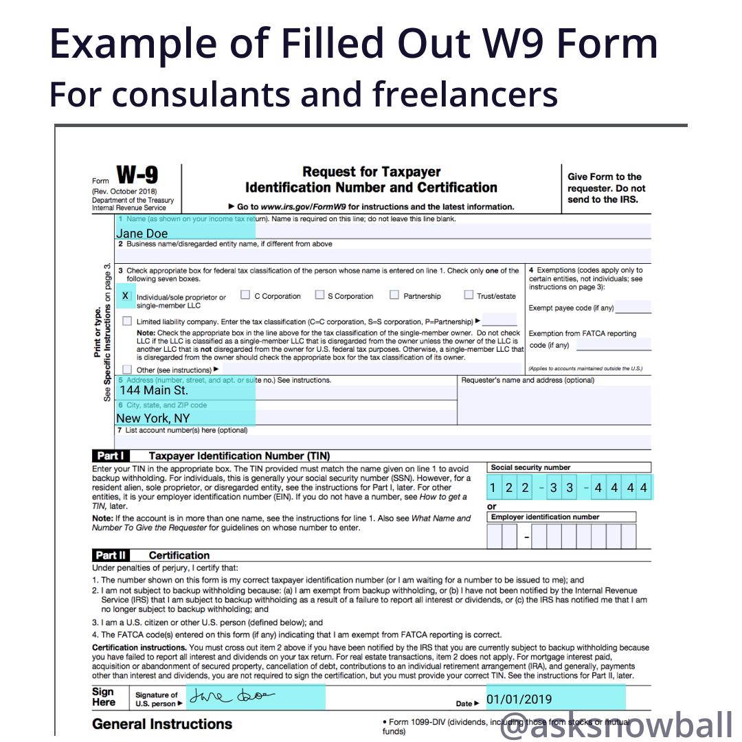 Irs W-9 Form 2021 Printable Pdf