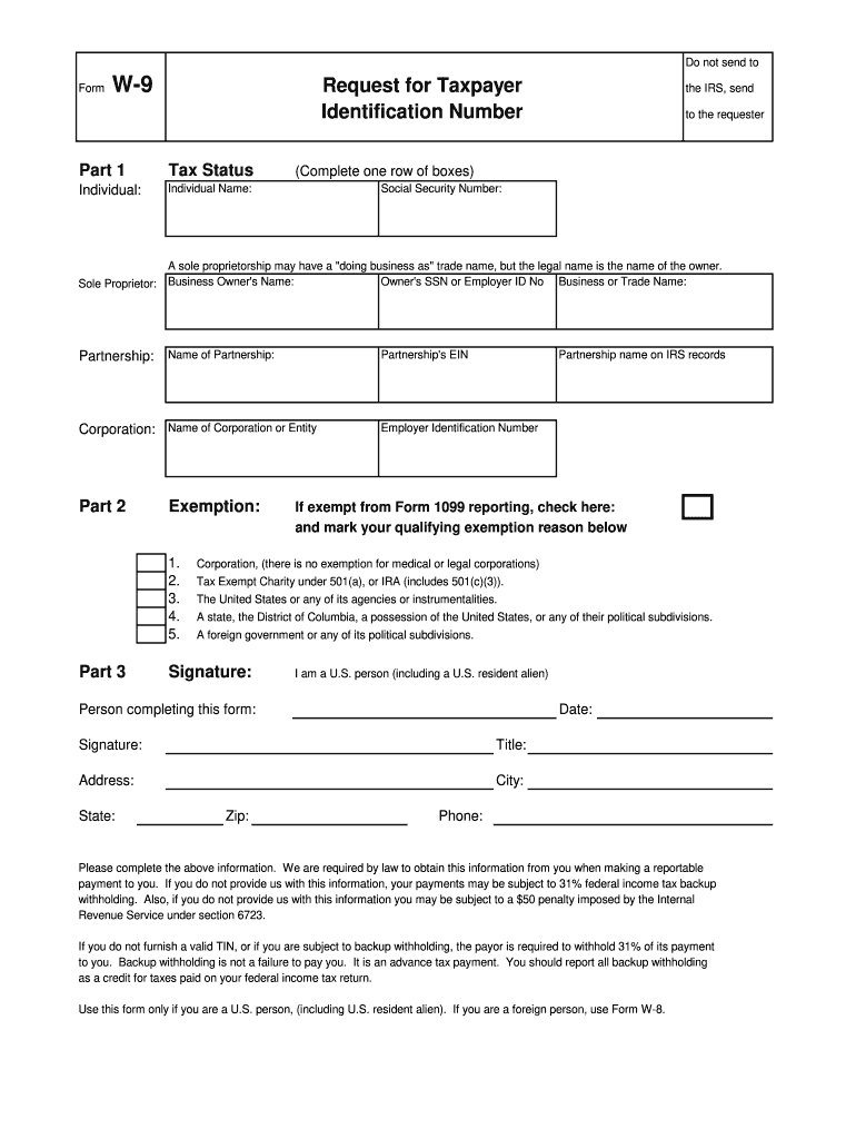 Kansas W9 Form - Fill Out And Sign Printable Pdf Template