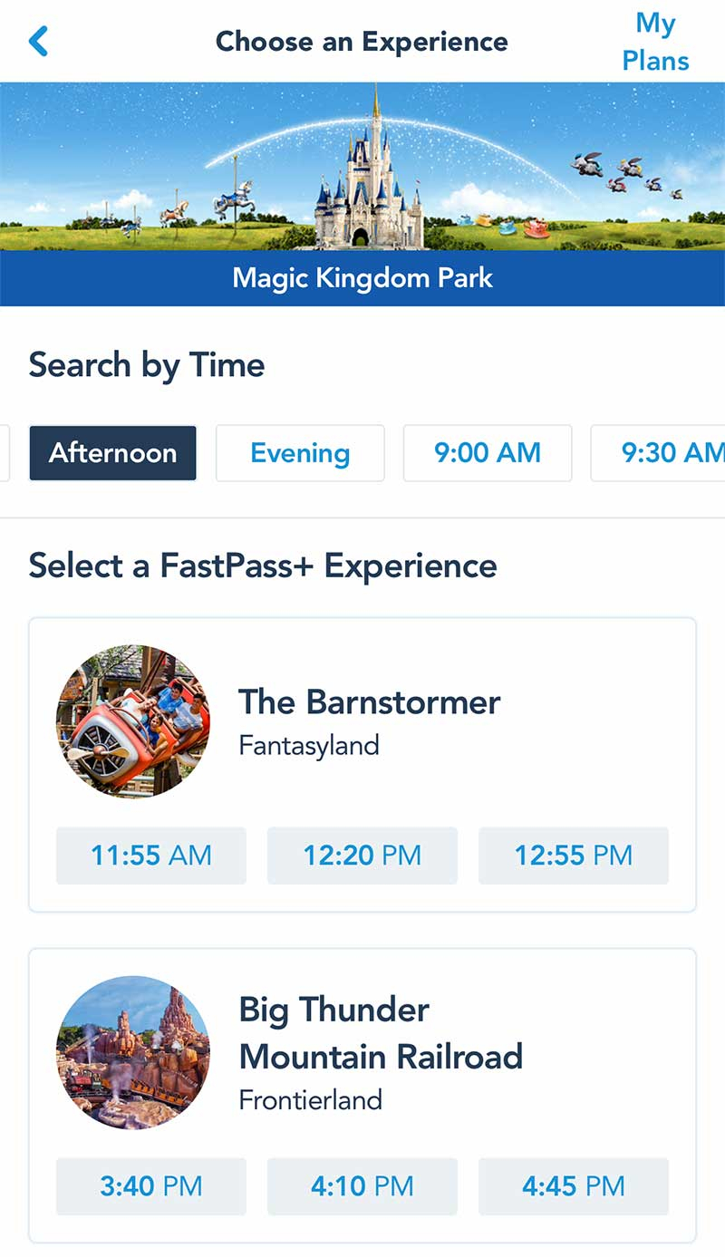 List Of Disney World Fast Pass Rides 2021