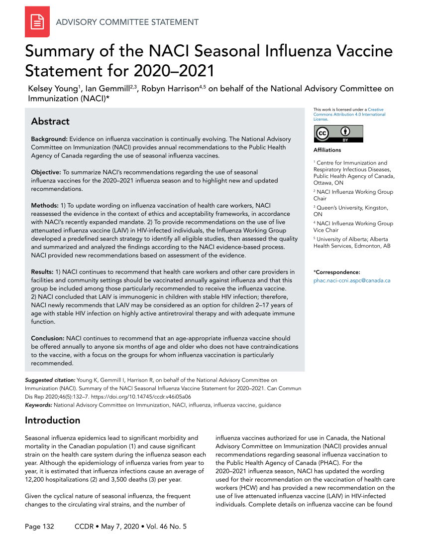 Mcgreer'S Criteria 2021