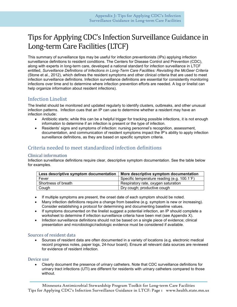 Mcgreers Criteria 2021 Uti