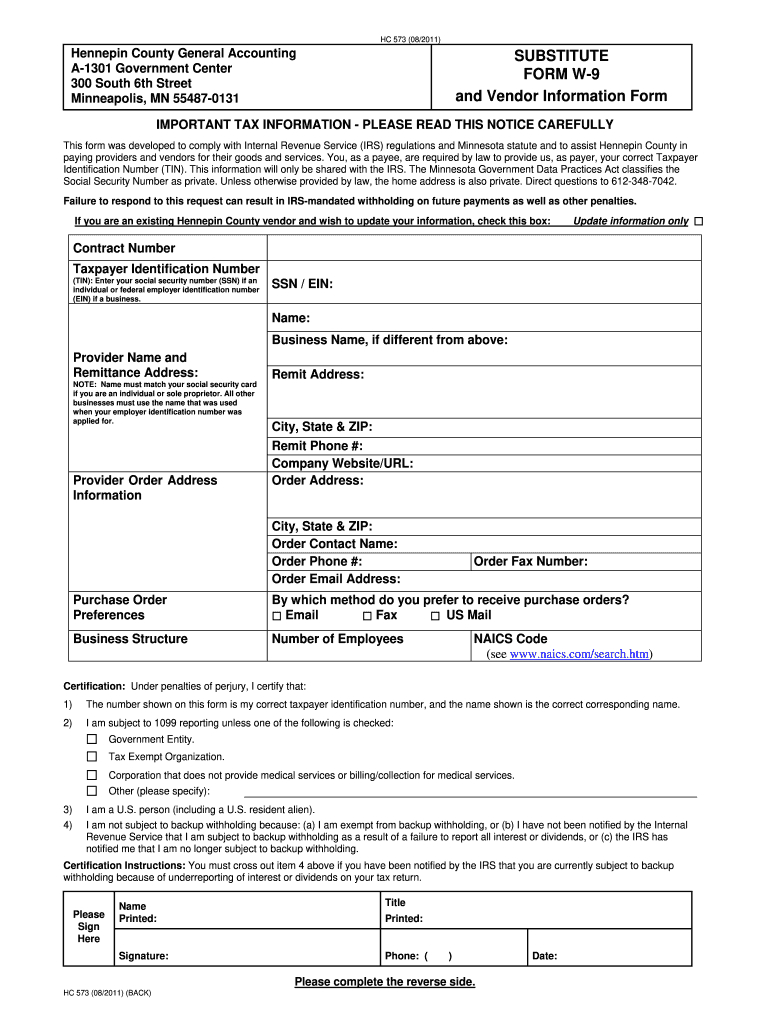 Minnesota W 9 2020 - Fill Out And Sign Printable Pdf Template