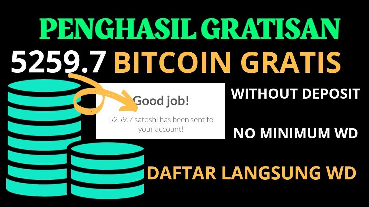 Penghasil Bitcoin (Btc Gratis Daftar Langsung Wd