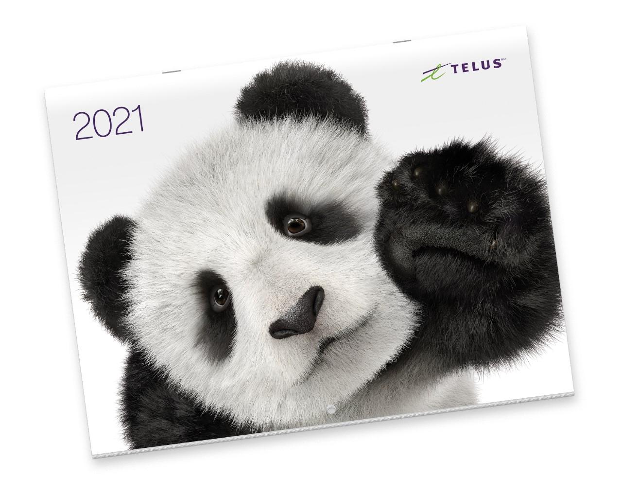The 2021 Telus Calendar Is Back.
