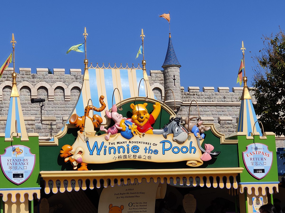 The Many Adventures Of Winnie The Pooh (Attraction) - Wikipedia
