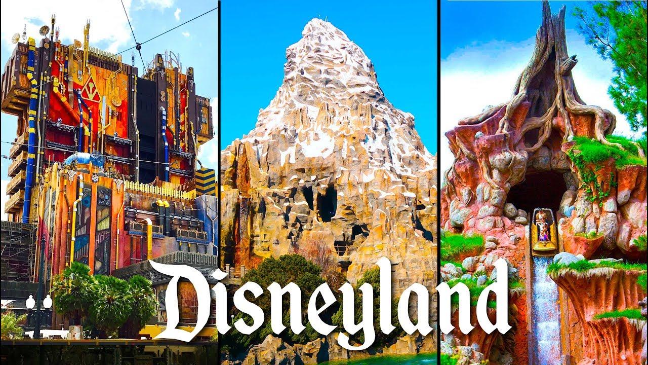 Top 10 Fastest Rides At Disneyland!