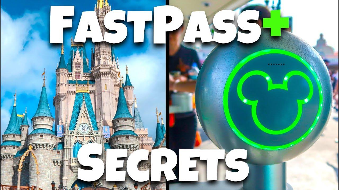 Top Fastpass Secrets & Tips At Disney World- Rides To Fastpass!