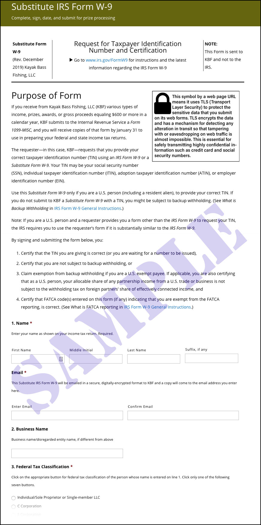 W 9 2021 Form Printable Irs