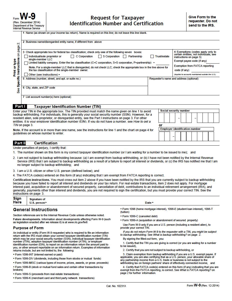 W 9 Forms 2021 Print Pdf Tx