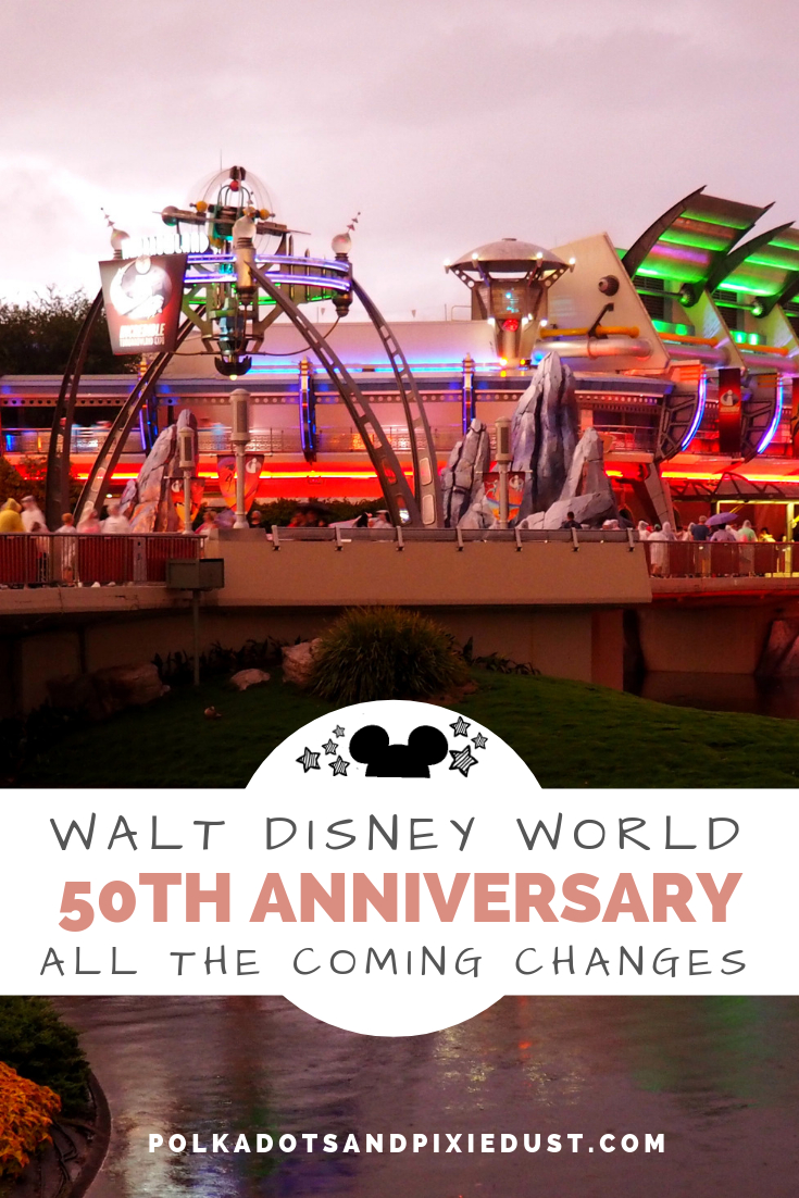 Walt Disney World 50Th Anniversary Changes2021