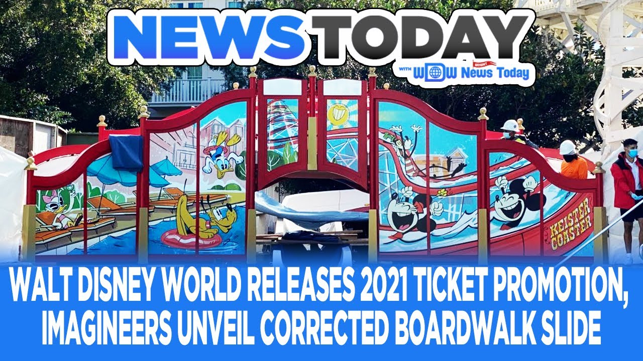 Walt Disney World Releases 2021 Promotion, Imagineers Correct Boardwalk  Slide - Newstoday 12/18