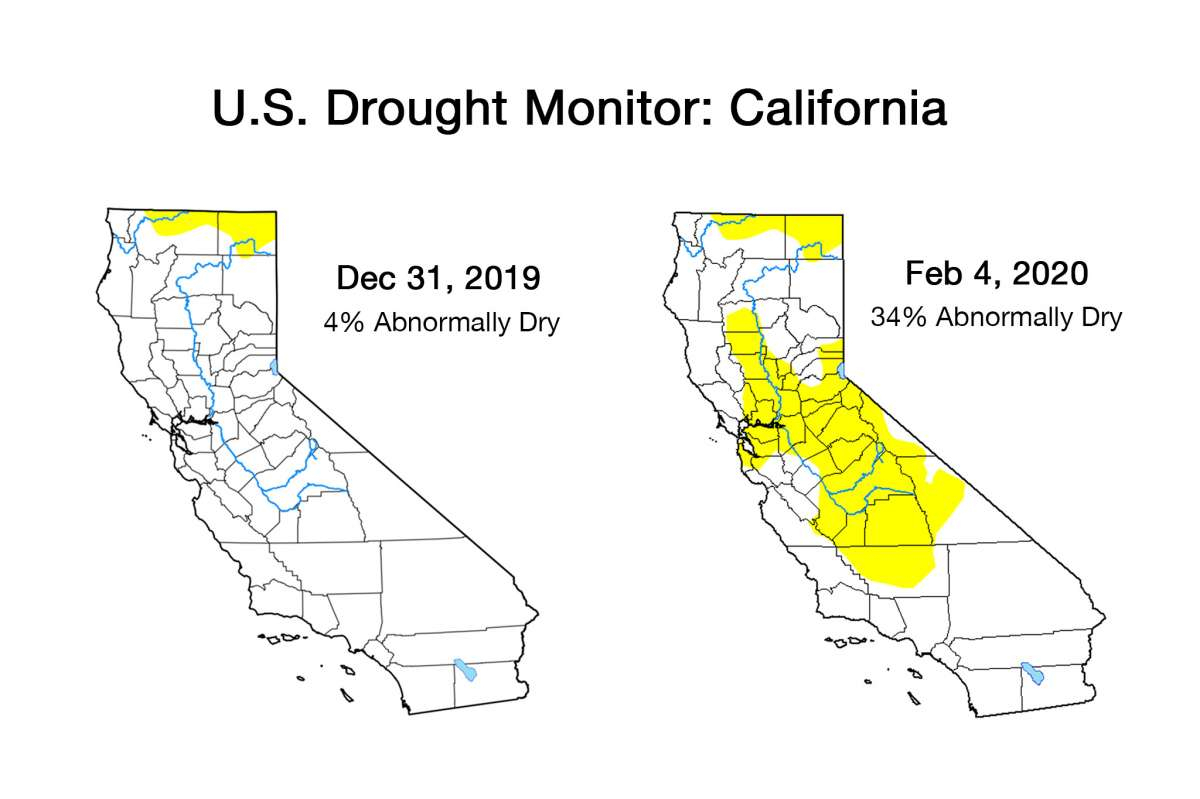 What Happened To The Rain? California In A Dry Rut, Snowpack