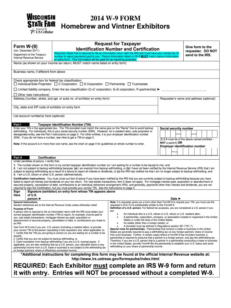 Wisconsin W 9 Form - Fill Out And Sign Printable Pdf Template