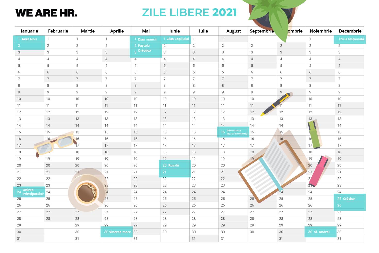 Zile Libere 2021: Când Se Fac Punți Pentru Minivacanțe? - We