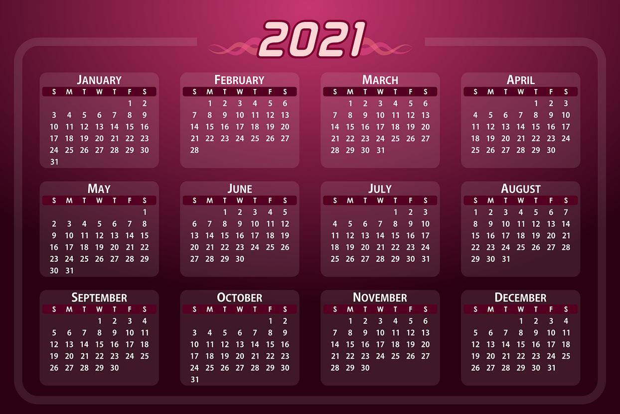 Zile Lucratoare 2021