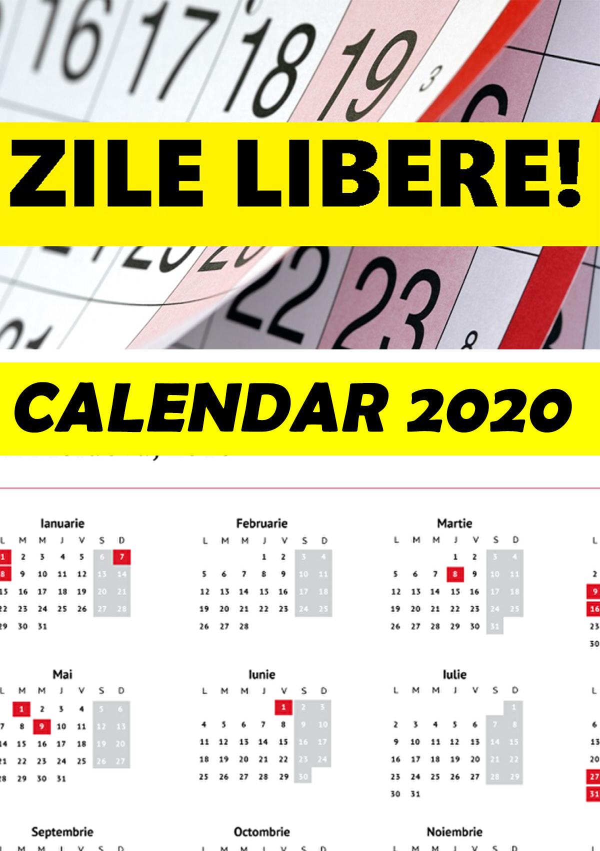 Zile Lucratoare Feb 2021
