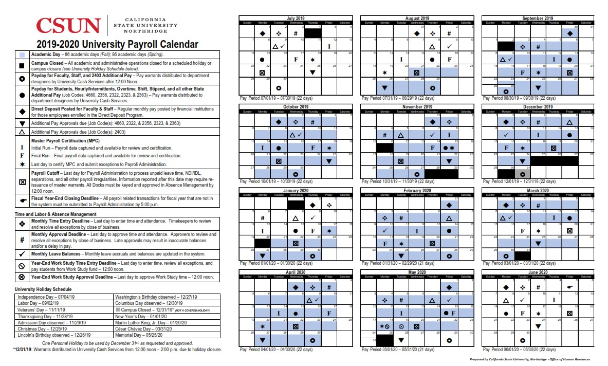 Ca State Pay Day And Holiday Calendar 2021