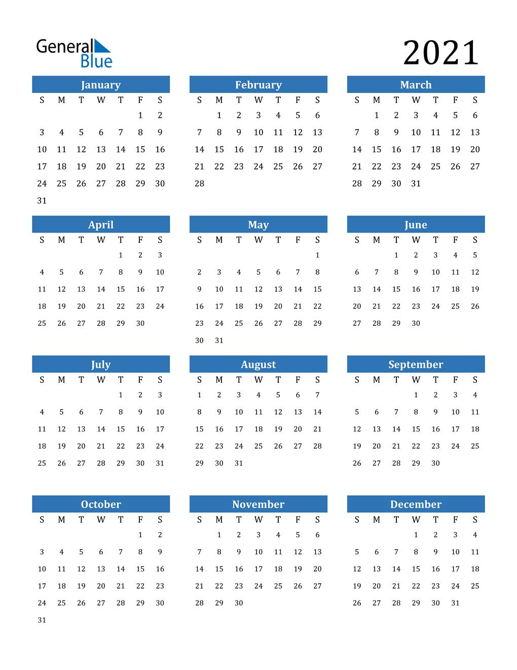 Calendar Wizard 2021