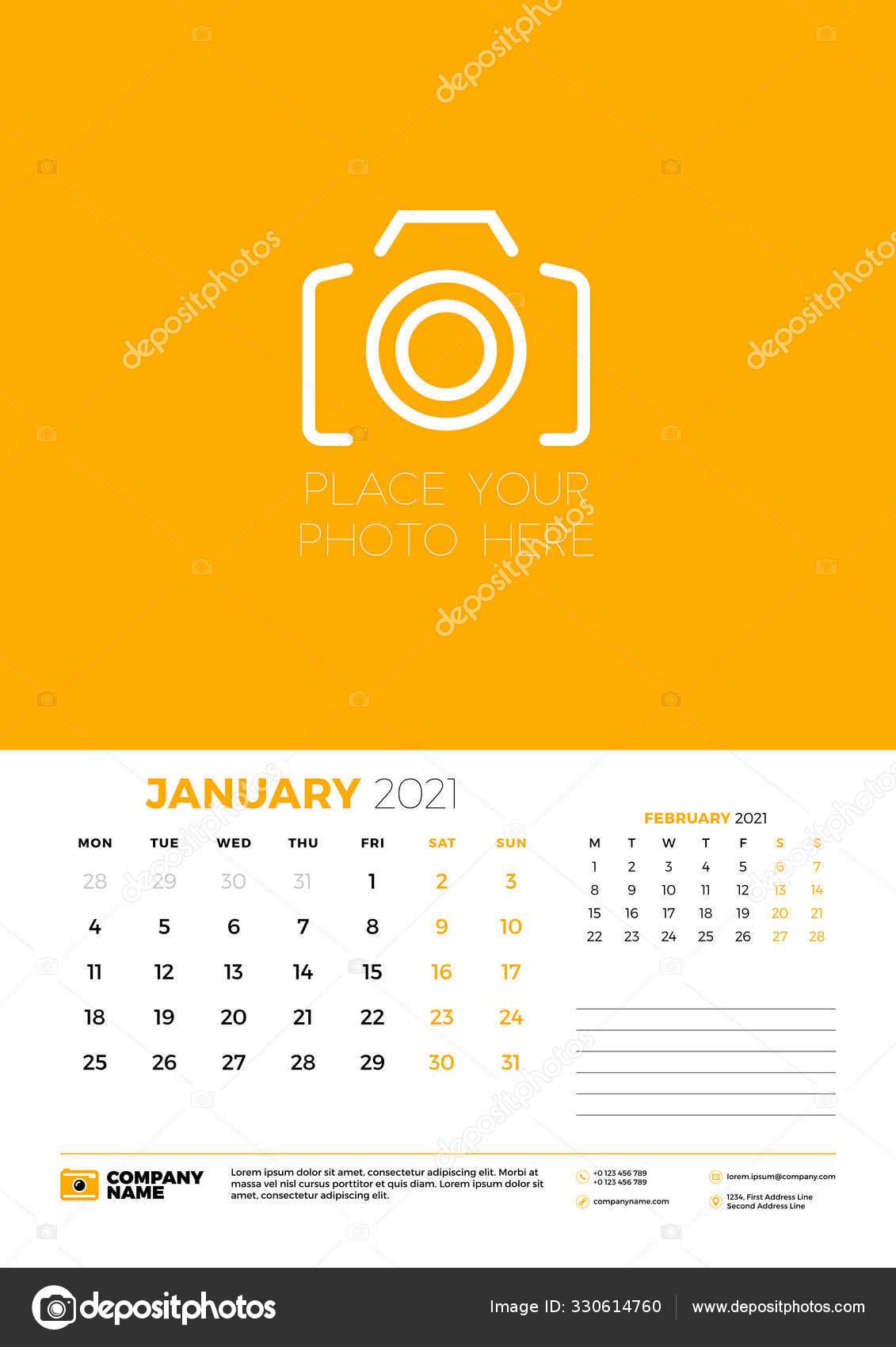 Depo Calendar For 2021