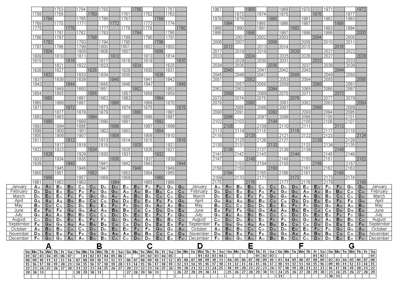 Depo Provera Printable Calendar 2021