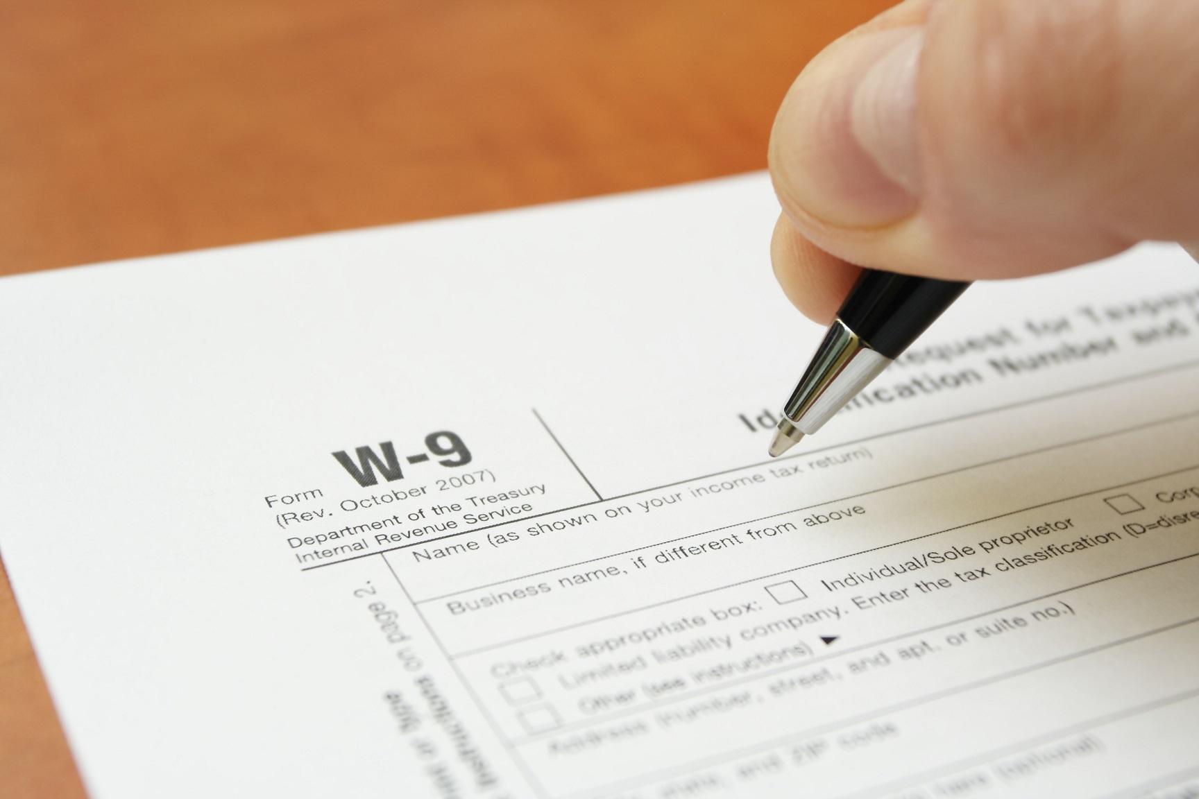 Free 2021 W-9 Form Printable