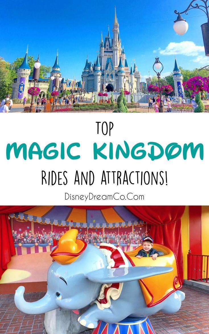 Magic Kingdom Rides List 2021