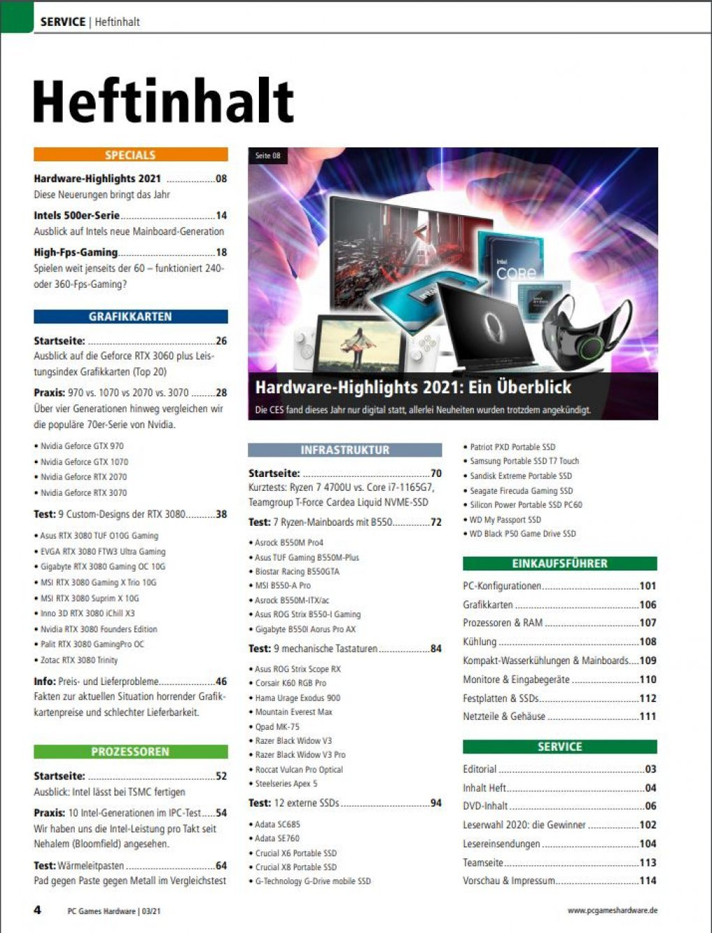 Pcgh 03/2021 (#245) Hersteller-Designs Mit Rtx 3080 Im