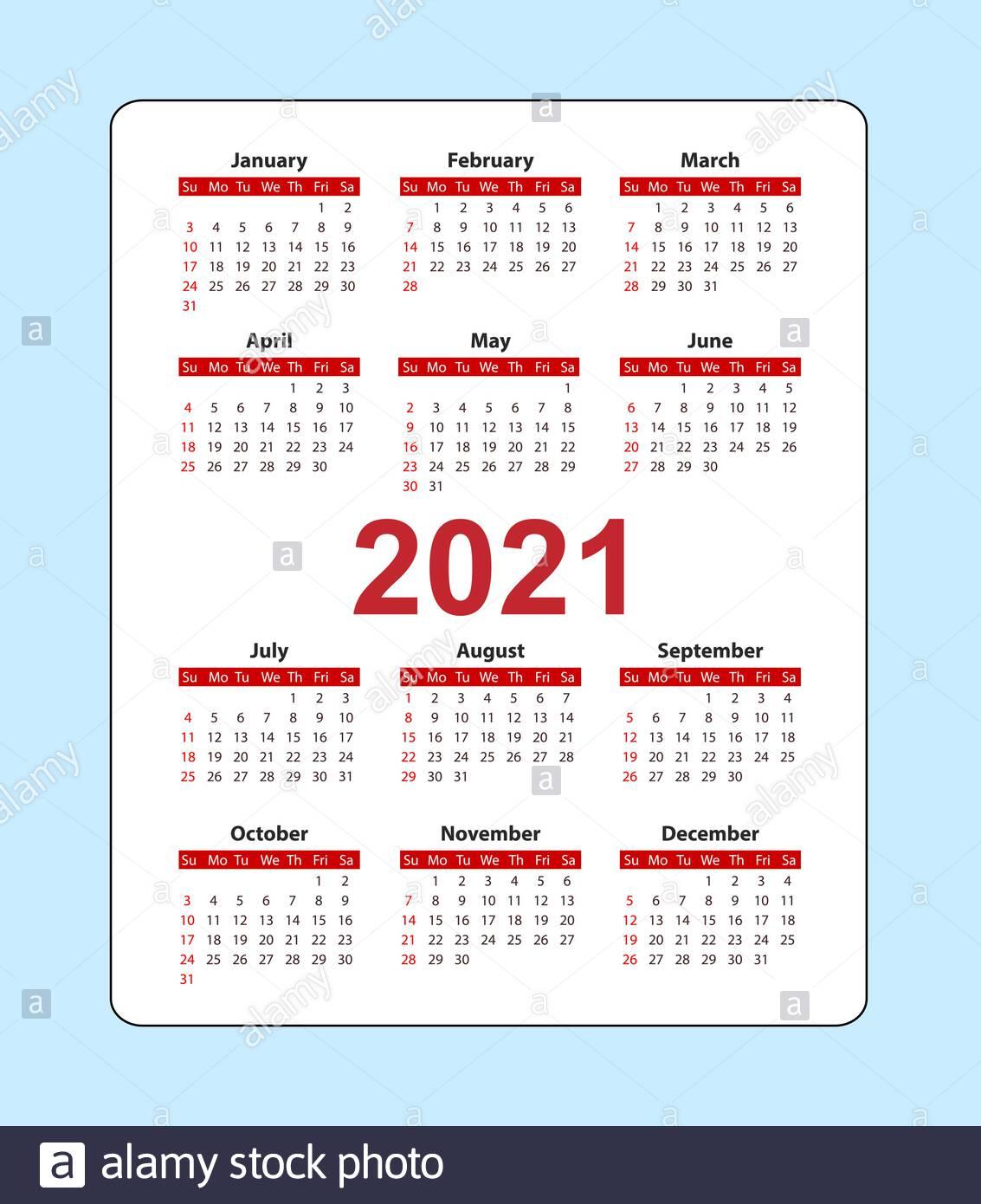Pocket Calendars 2021 2021