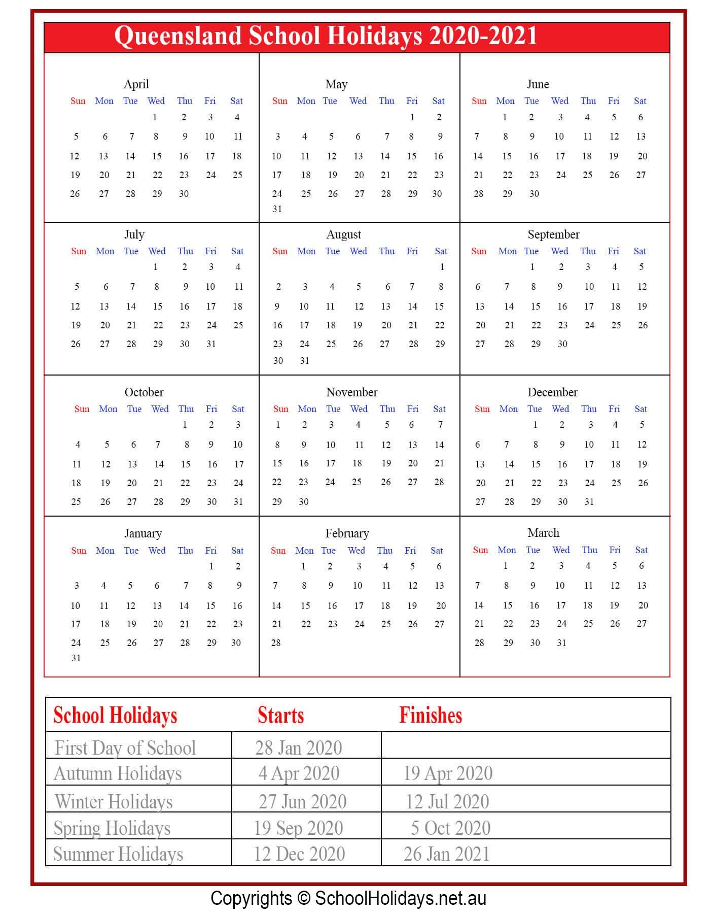 [%Qld *School Holidays* 2020 [Queensland]❤️|Qld School Holidays 2021|Qld School Holidays 2021%]