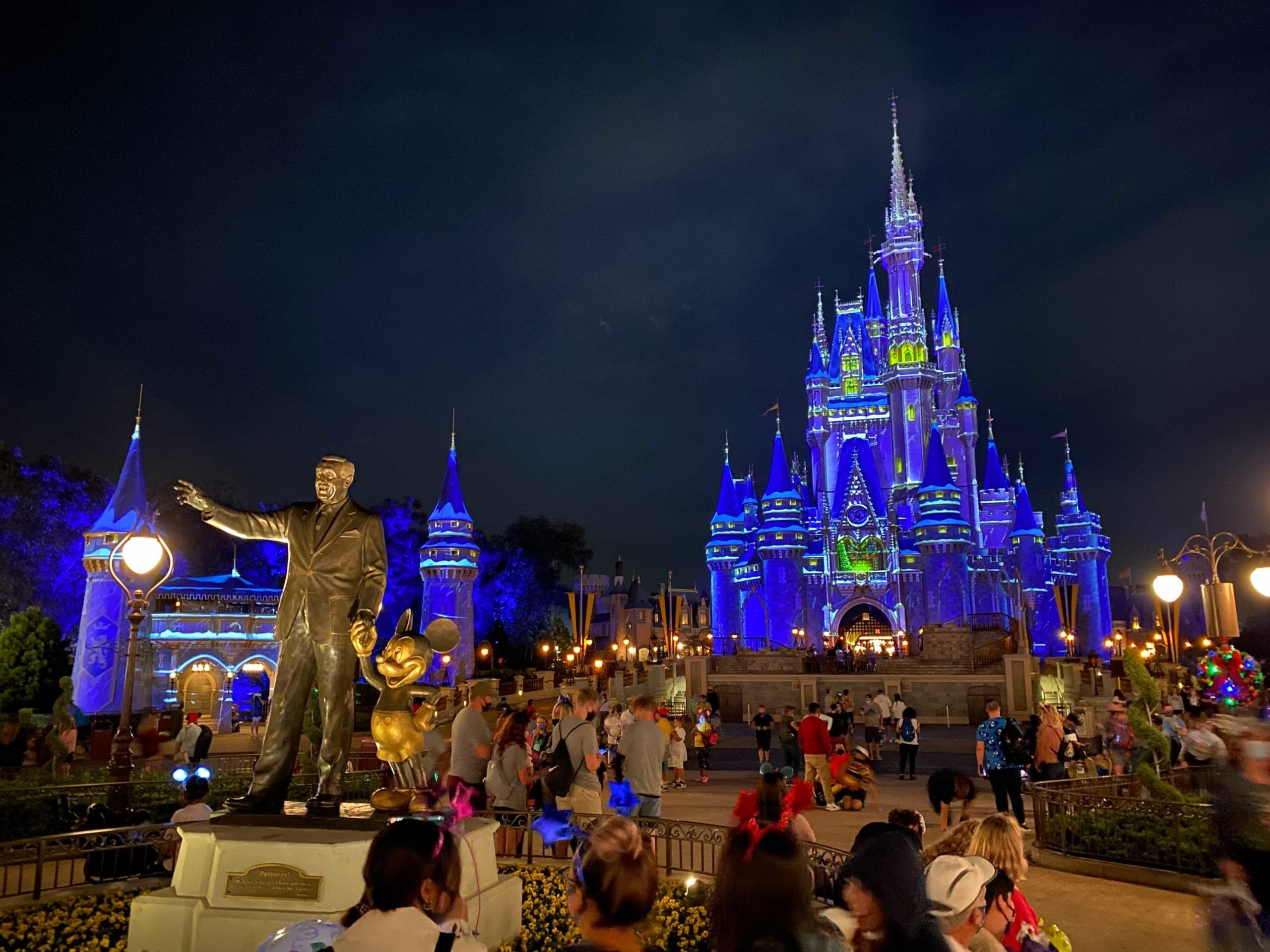 Video: Guests Lead Spontaneous Countdown To 2021 At Magic
