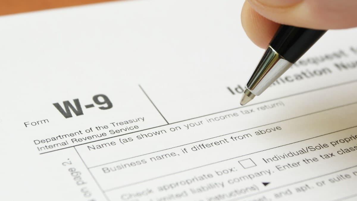 W-9 Form 2021 Printable