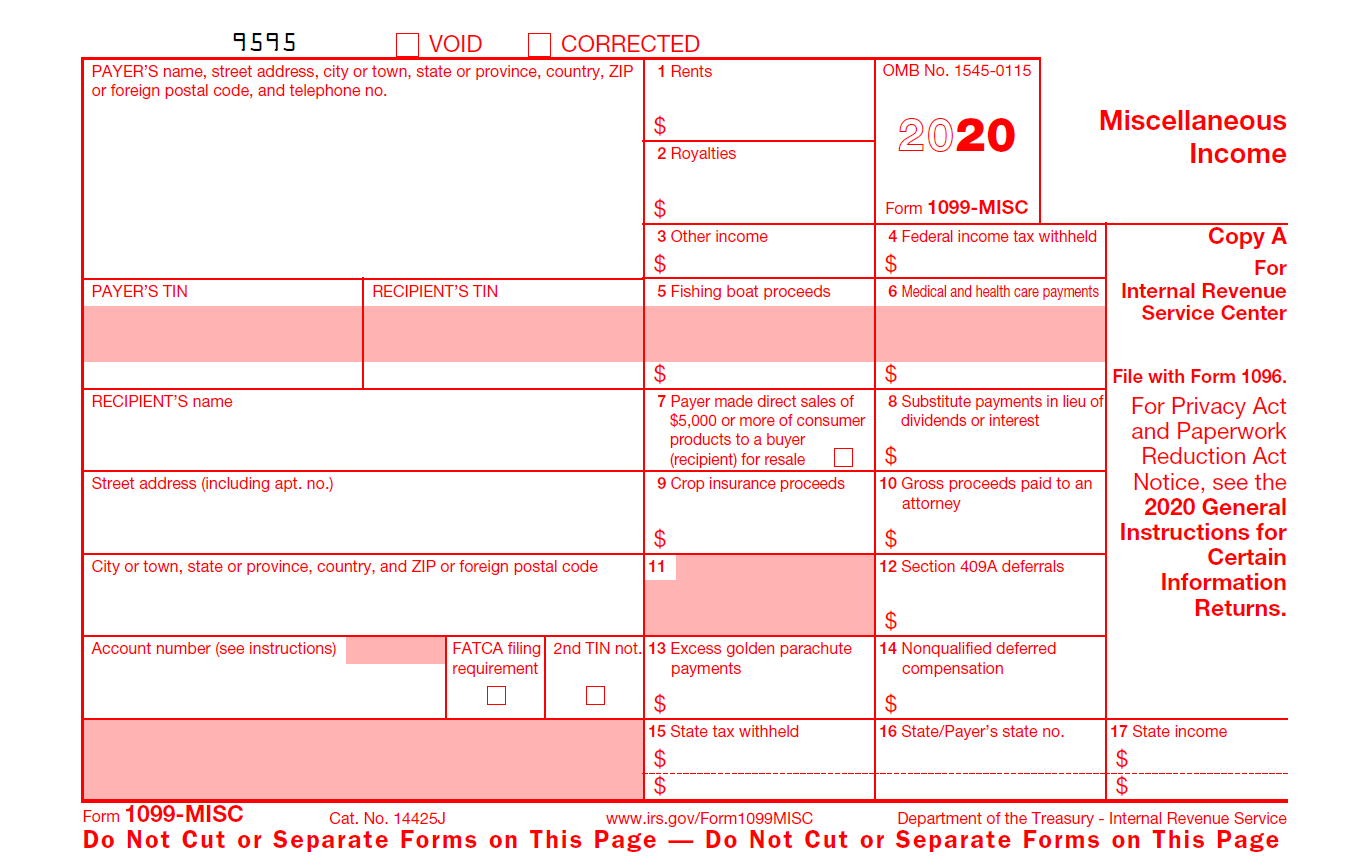 W9 Form 2021 Printable