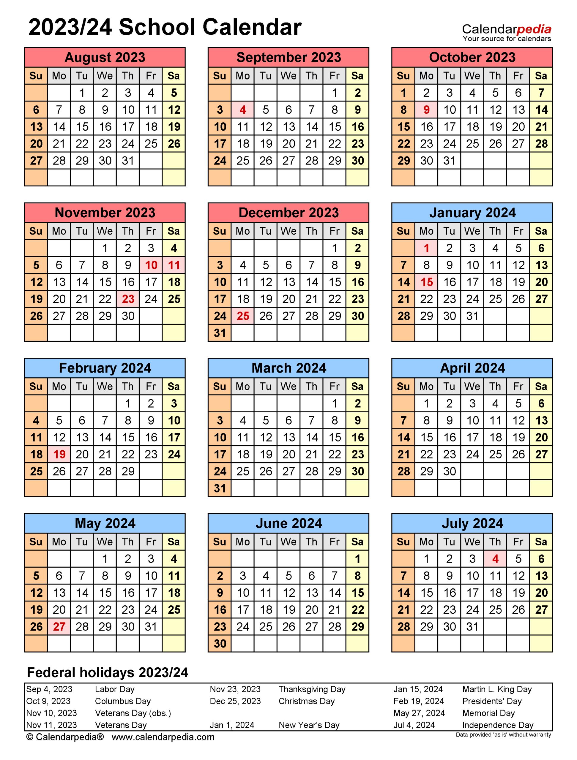 2022 And 2023 School Calendar Nyc