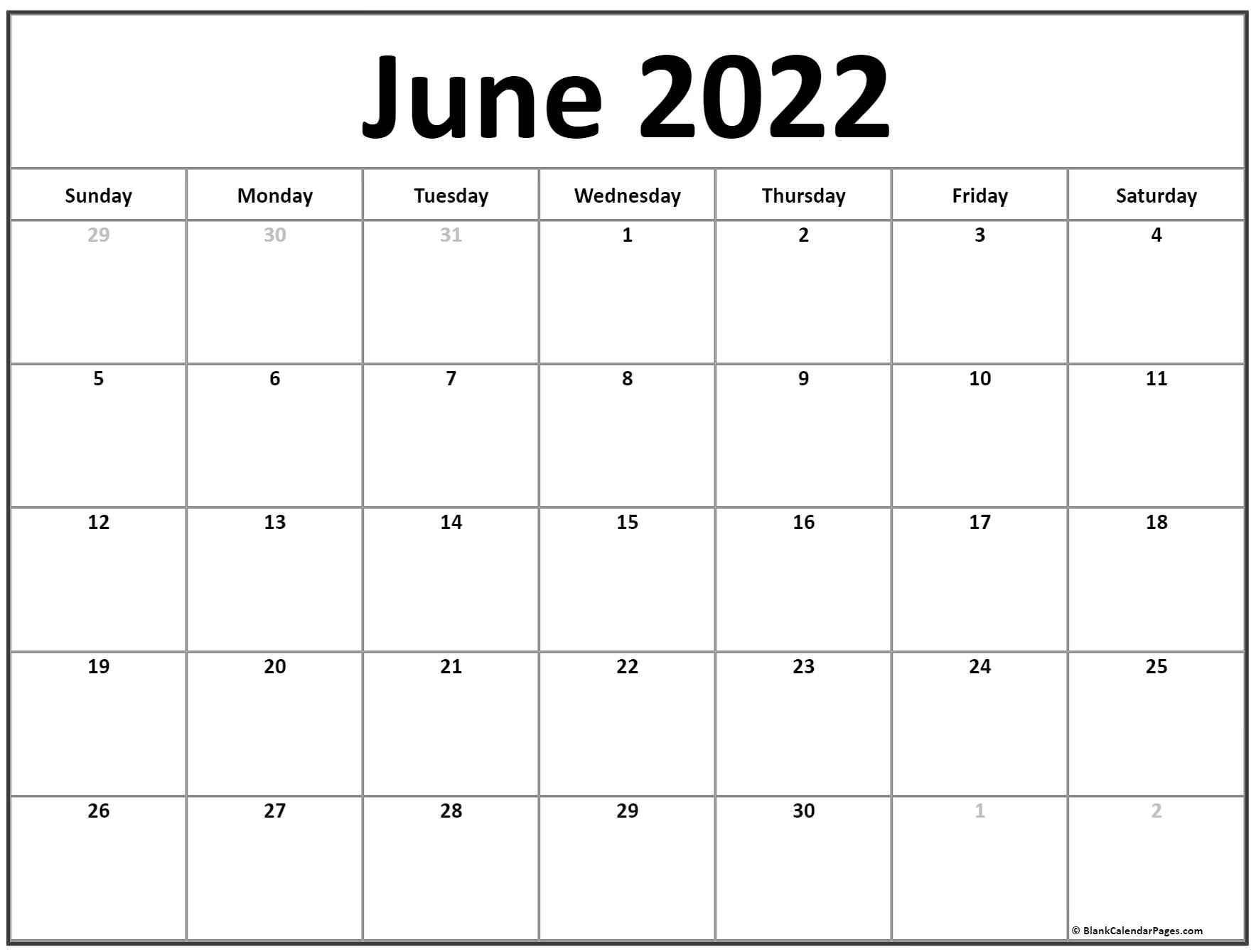 2022 Calendar Download Word