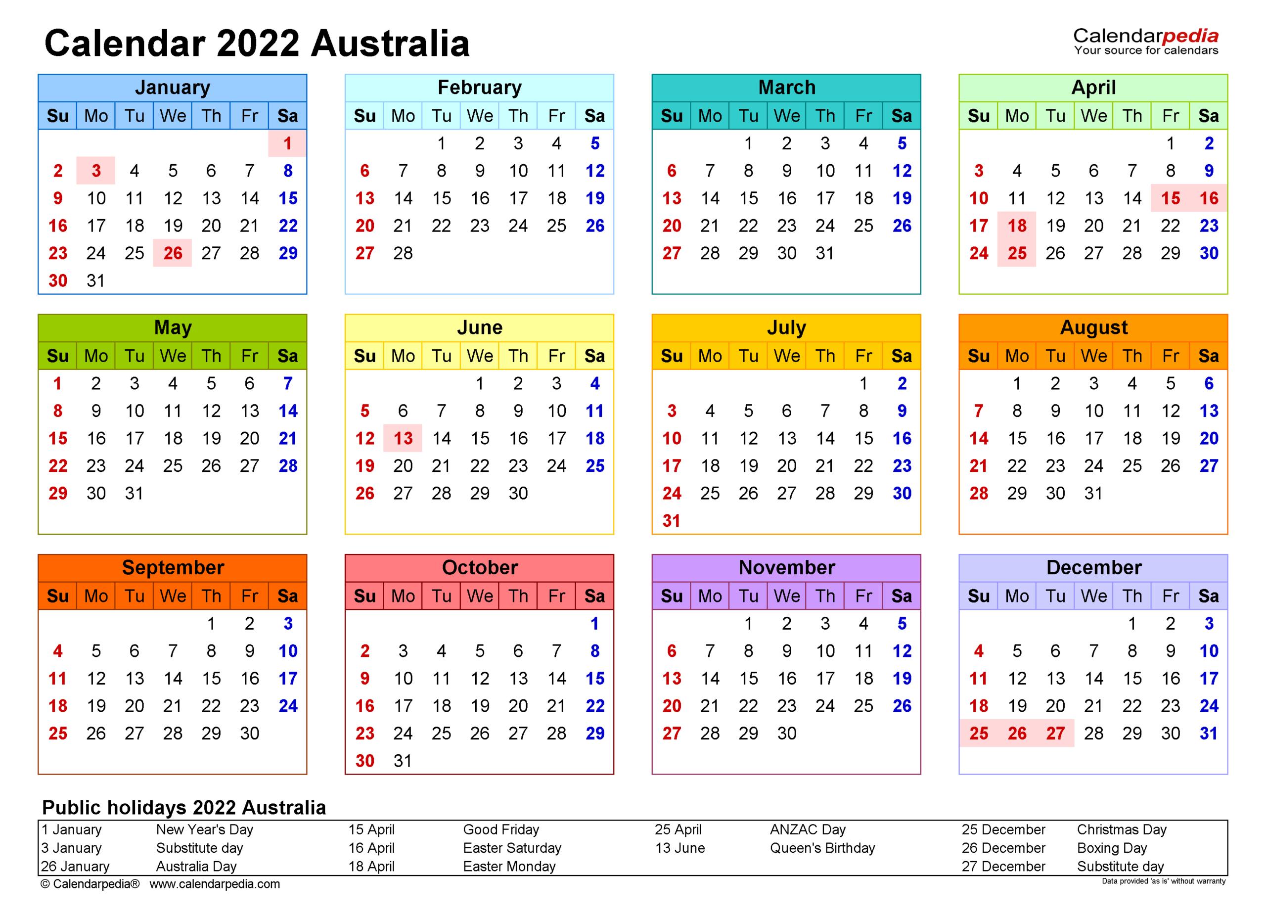 2022 カレンダー 2022 カレンダー 祝日 ~ 無料の印刷可能な資料