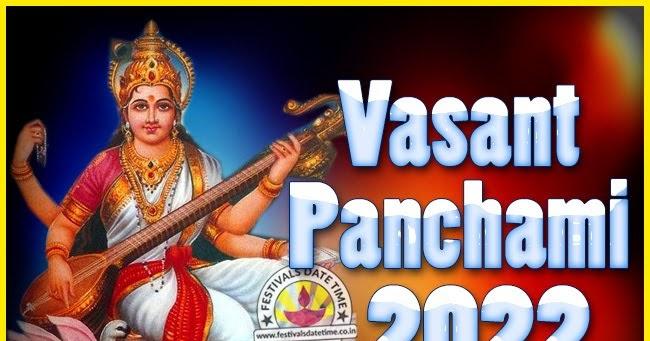 2022 Vasant Panchami Puja Date & Time, 2022 Vasant