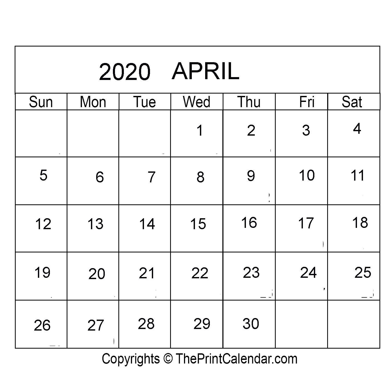 [%April 2020 Printable Calendar Template [Pdf, Word & Excel]|Calendar 2022 Sri Lanka|Calendar 2022 Sri Lanka%]
