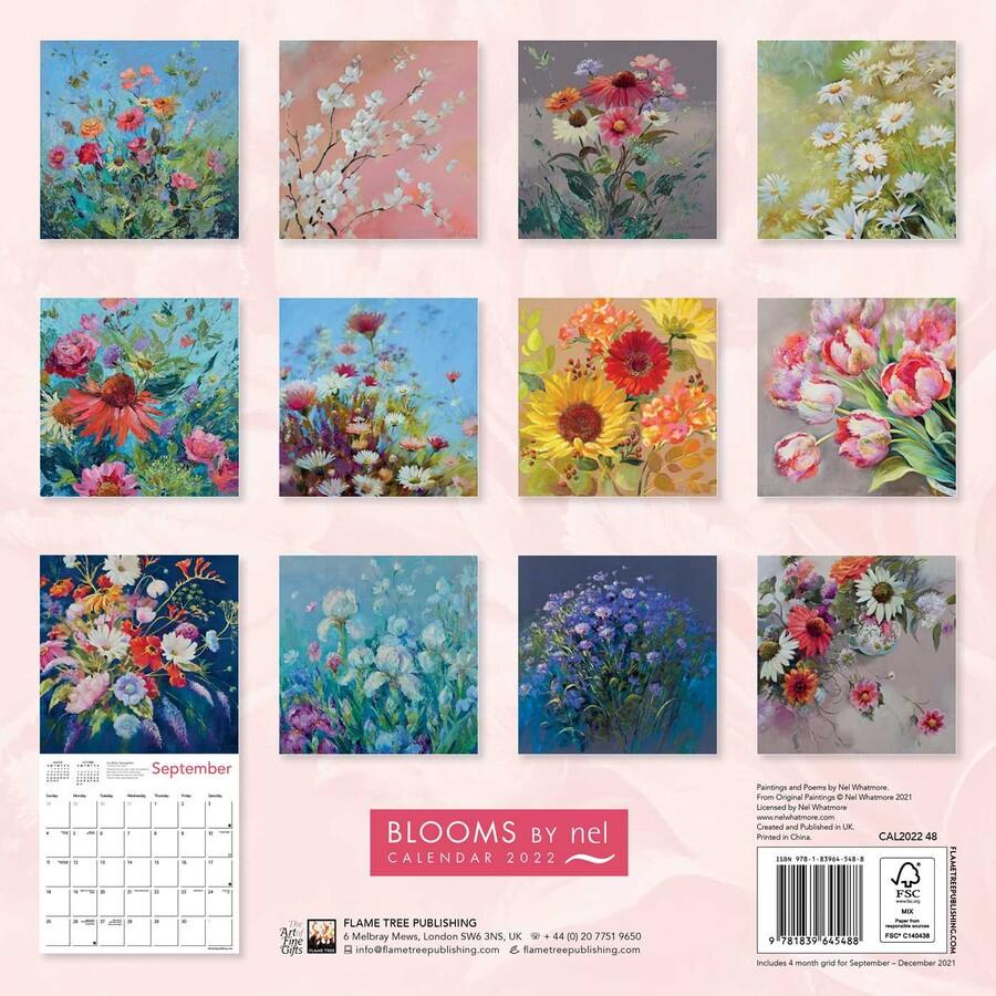 Bloomsnel Whatmore Wall Calendar 2022 (Art Calendar
