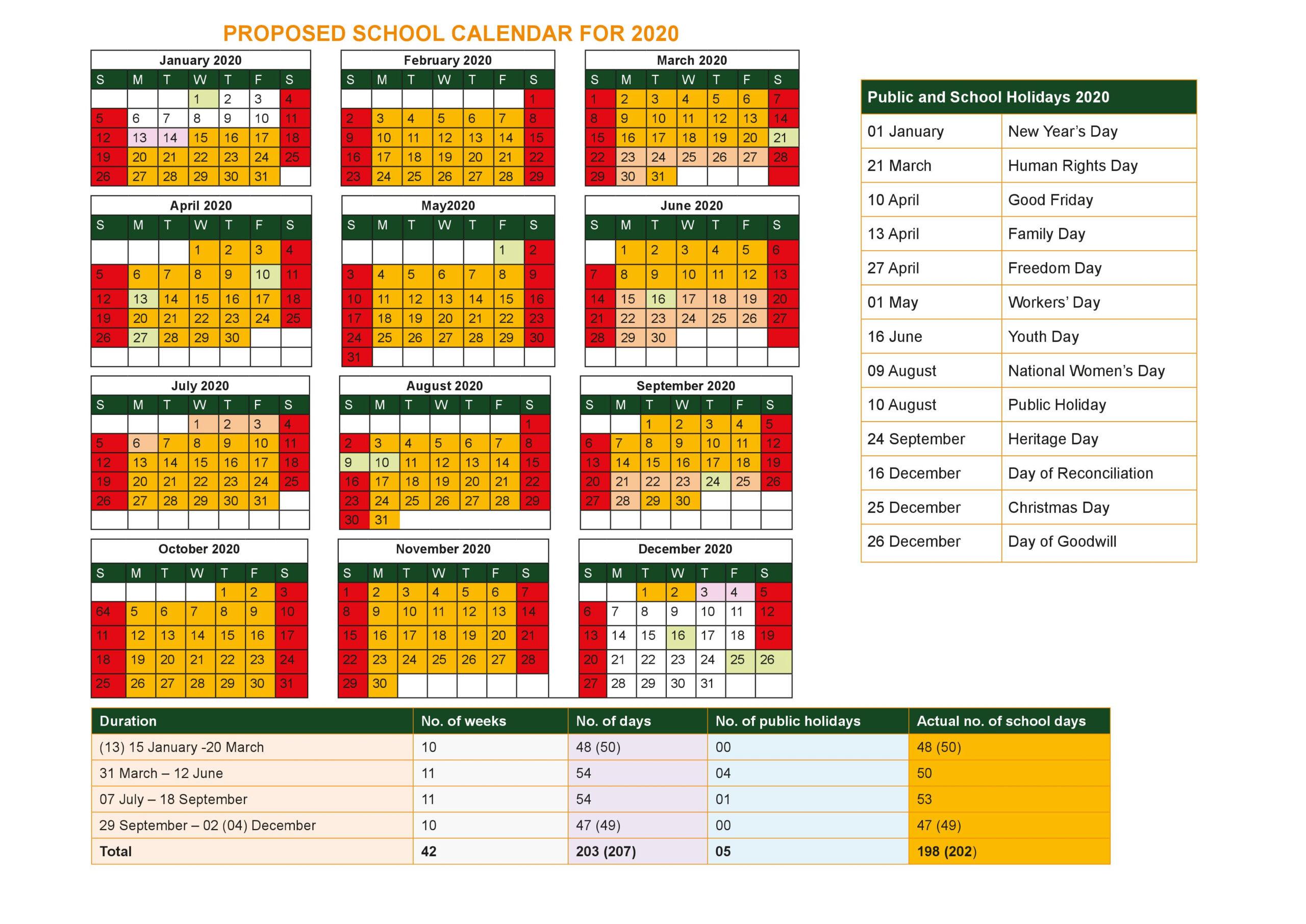 Calendar 2020 /2021
