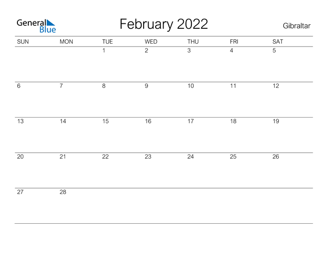 Calendar 2022 August Bank Holiday