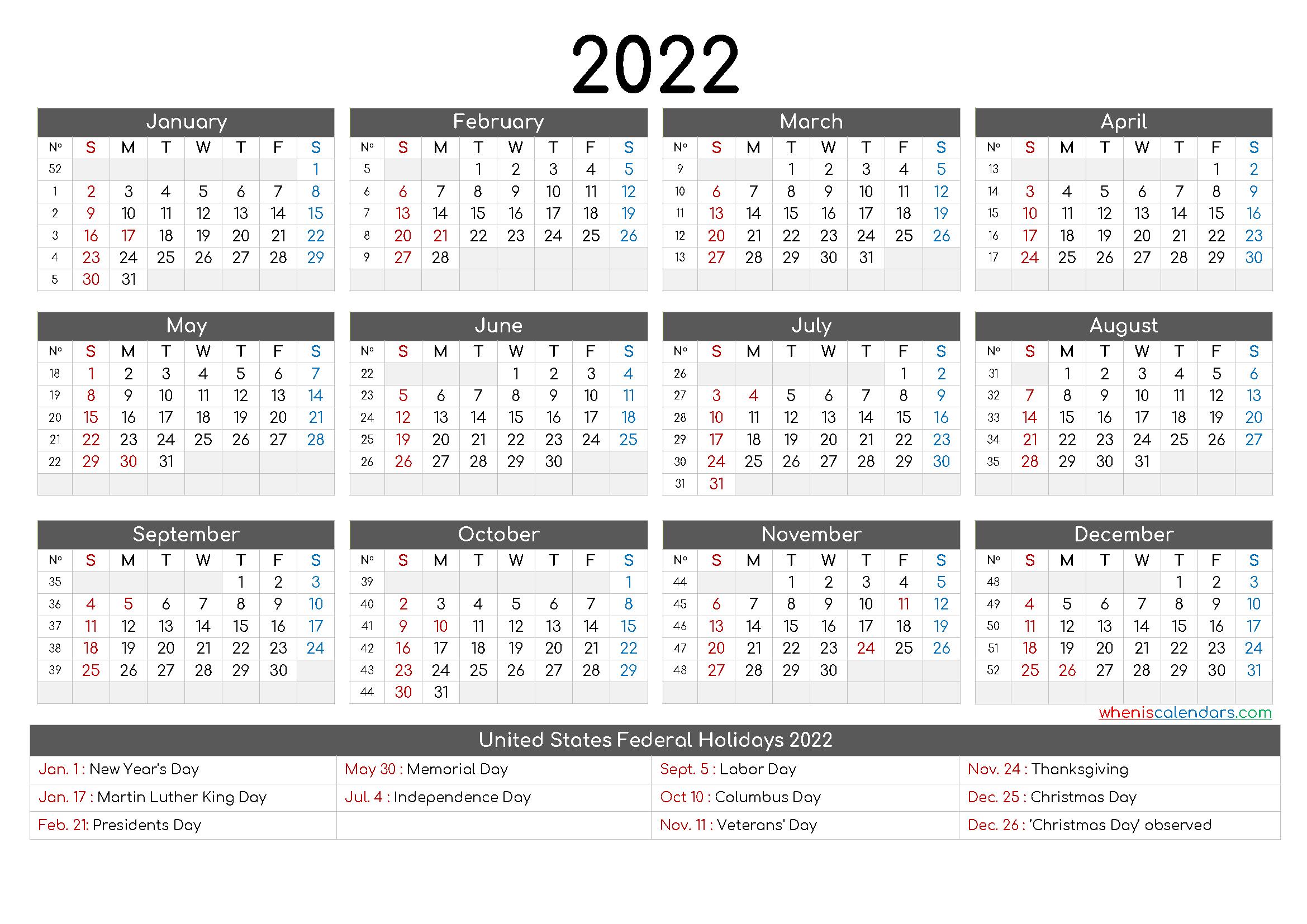 Calendar 2022 To Buy