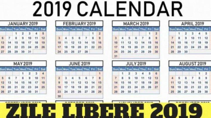 Calendar 2022 Zile Lucratoare