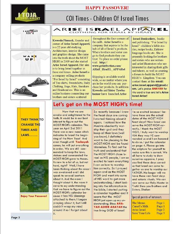 Coitimes: Enoch Hebrew Calendar -2021-2022