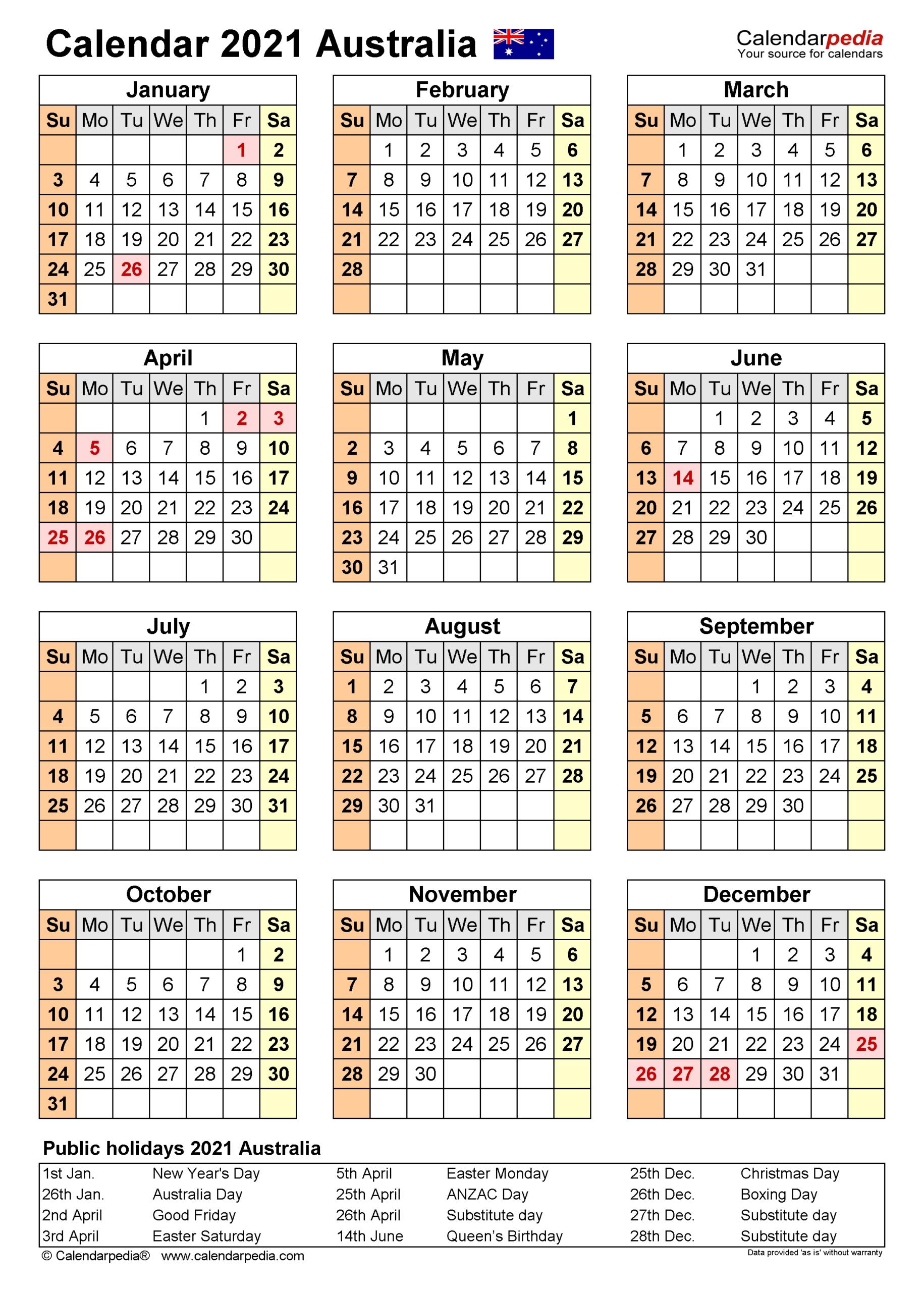 Fiscal Calendar 2022 Excel