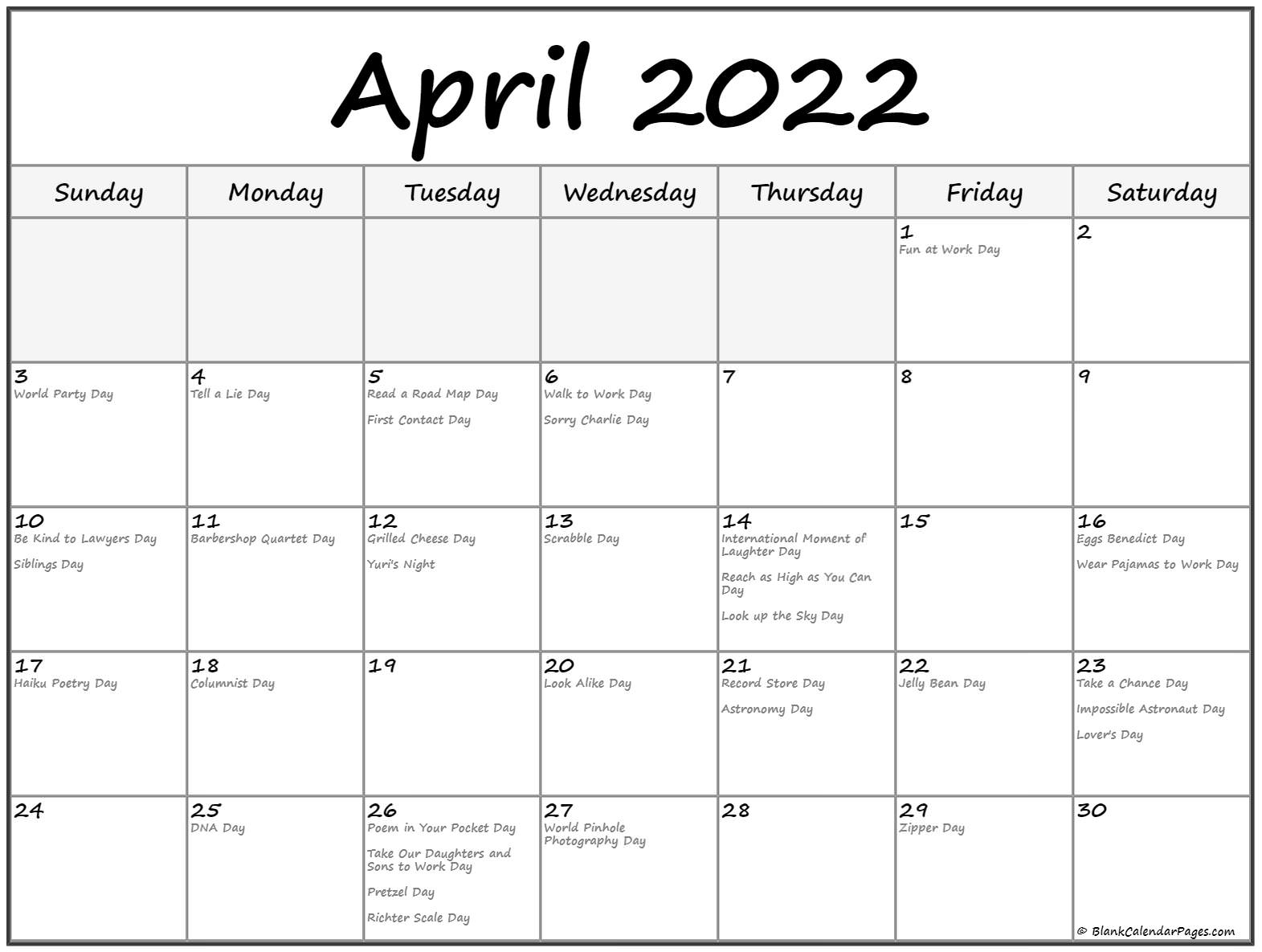 Gujarati Calendar 2022 April