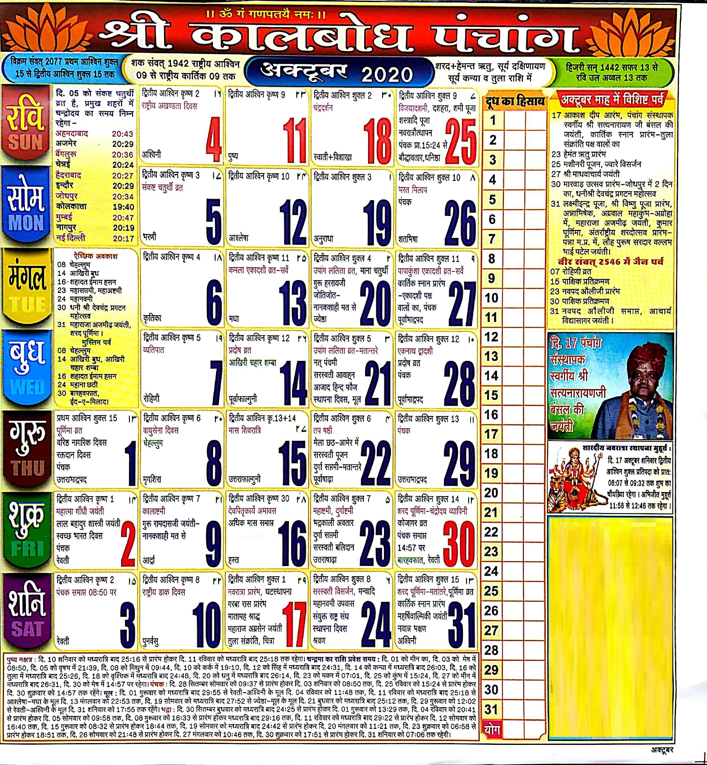 Hindu Calendar 2020 May /Hindu Calendar 2020 May In 2020