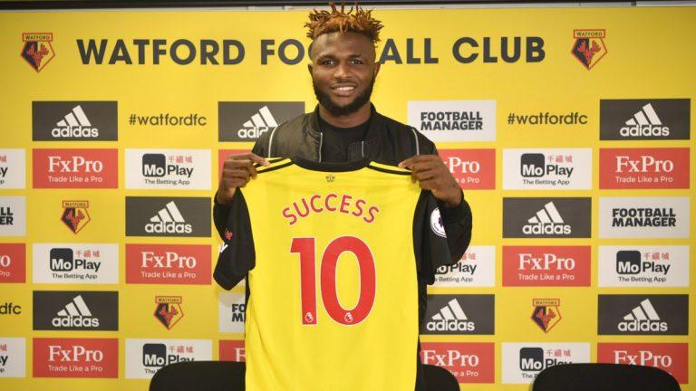 Isaac Success Extends Watford Deal Until 2023 - Latest