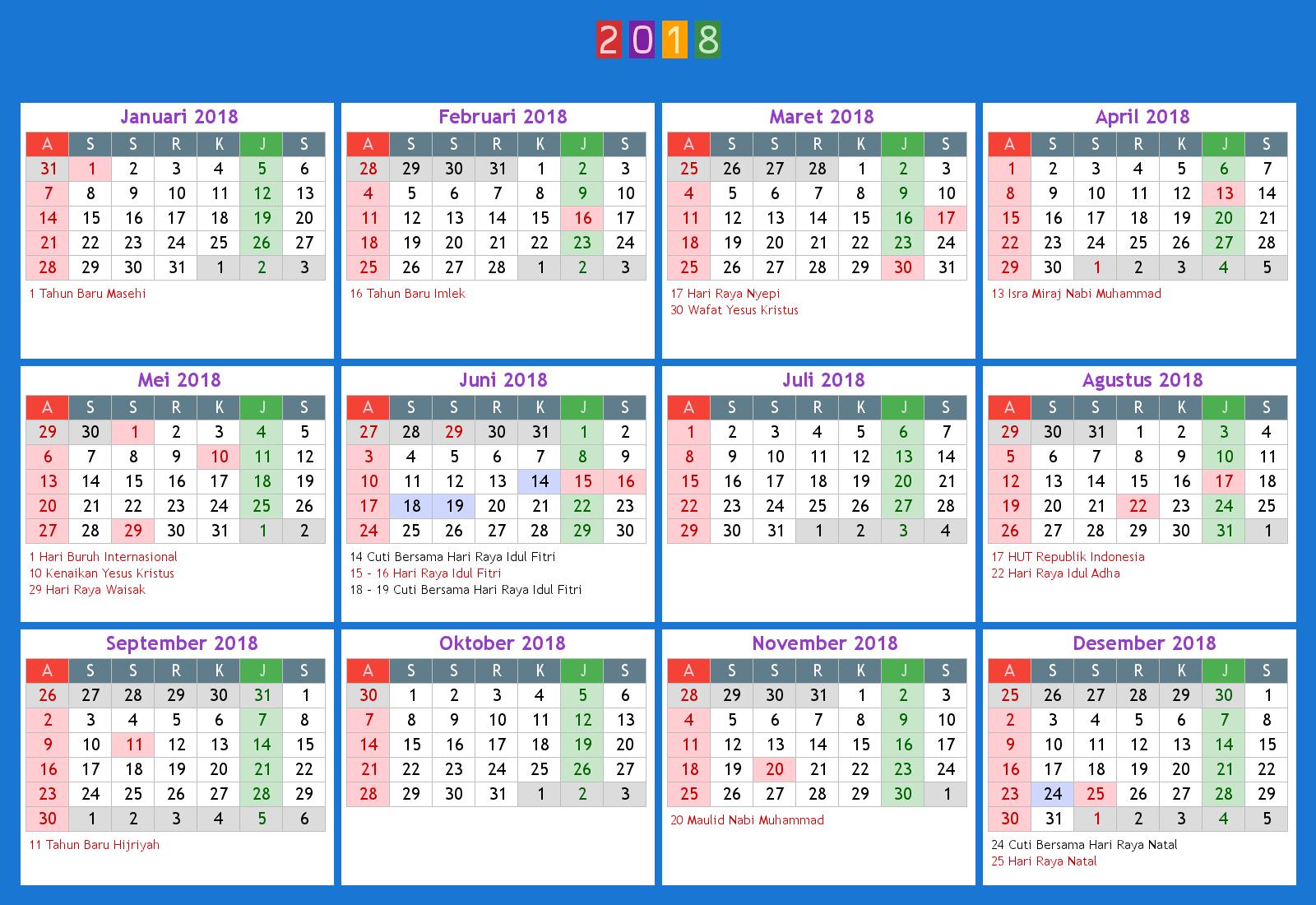 Islamic Calendar 2022 Malaysia